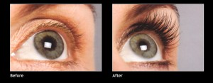 idol lash review before and after
